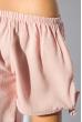 Блуза женская с завязками на плечах 266F011-3 розово-сиреневый