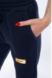 Брюки спортивные женские  85F10107 темно-синий