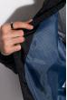 Бомбер стеганый 120PELK377 темно-синий