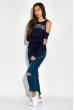 Джемпер женский 32P031 темно-синий