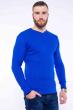 Пуловер однотонный 606F002 электрик