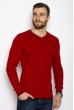 Пуловер однотонный 606F002 красный