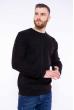 Пуловер однотонный 608F001 черный