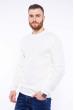 Пуловер однотонный 608F001 молочный