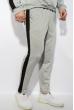Костюм спортивный мужской 118P1008 светло-серый / черный