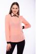 Блуза женская 118P137 персиковый ассорти