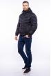 Куртка мужская с капюшоном 157P3106 черный