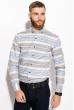 Рубашка 111P038 молочно-голубой