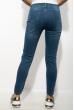 Джинсы стильные женские 623F496 светло-синий
