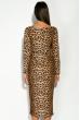 Платье 110P463 тигровый