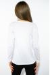 Лонгслив женский с принтом 85F10154-2 белый