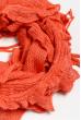 Базовый женский шарф 120PROS06775 коралловый