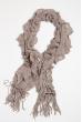 Базовый женский шарф 120PROS06775 серый