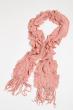Базовый женский шарф 120PROS06775 розовый