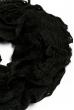 Базовый женский шарф 120PROS06775 черный