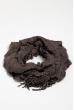 Базовый женский шарф 120PROS06775 темно-серый