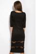 Платье 110P415 черный