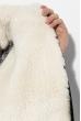 Костюм женский с искусственным мехом 72PD139 черный