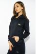 Костюм спортивный женский 85F10150 темно-синий