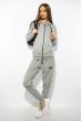 Костюм спортивный женский 85F10150 светло-серый