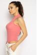 Боди женское с воротником стойка 629F1203 розовый
