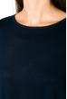 Платье-туника с круглым вырезом 317F054 темно-синий