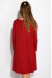 Платье-туника с круглым вырезом 317F054 марсала
