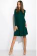 Платье-туника с круглым вырезом 317F054 изумрудный