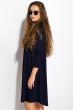 Платье-туника с круглым вырезом 317F054 синий