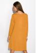 Платье-туника с круглым вырезом 317F054 светло-горчичный