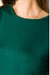Платье-туника с круглым вырезом 317F054 светло-изумрудный