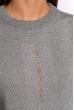 Костюм женский 120PSKL022 вязанный светло-серый