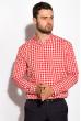 Рубашка 511F042 красно-белый