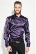 Рубашка мужская шелковая 50PD0090 темно-сиреневый