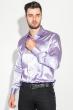 Рубашка мужская шелковая 50PD0090 фиолетовый
