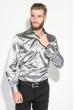 Рубашка мужская шелковая 50PD0090 серый