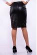 Офисная юбка 176P004 черный
