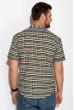 Рубашка в стиле Casual 511F033 бежево-зеленый