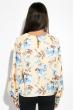 Блузка женская с цветочным принтом 64PD360 желтый , цветы