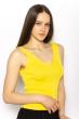 Женский топ с V-образным вырезом 630F003 желтый