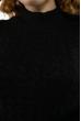 Платье трикотажное  615F2030 черный
