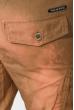 Брюки мужские карго 778K005-2 бежевый варенка
