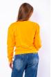 Свитшот женский 600F030 оранжевый