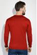 Свитер мужской с галочками на груди 48P3258 бордо