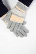 Перчатки  202P008 серо-персиковый