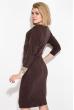 Платье женское с карманами  79PD5518 шоколад