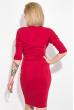 Платье женское с карманами  79PD5518 красный