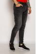 Джинсы мужские  Slim Fit 643F1253 темно-серый