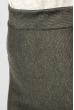 Юбка приталенная 367F002 темно-серый