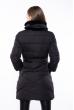 Куртка женская с меховым воротником 120PSKL2108 черный